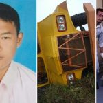 Malaysia ah Chin pa mawttaw accident in a thi