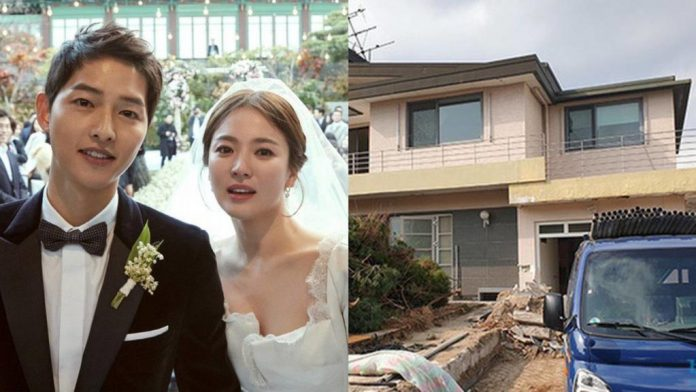 demolishing the house he bought to live with Song Hye Kyo
